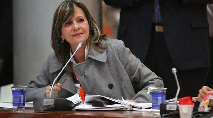 Ángela María Robledo Gómez. Foto: Cámara de Representantes.