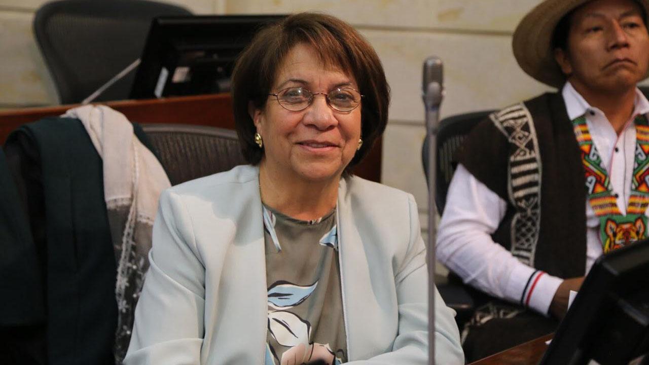 Aída Yolanda Avella Esquivel. Foto: Prensa Senado de la República.