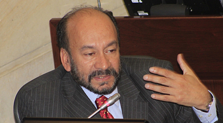 Alfredo Rangel Suárez. Foto: Senado de la República.