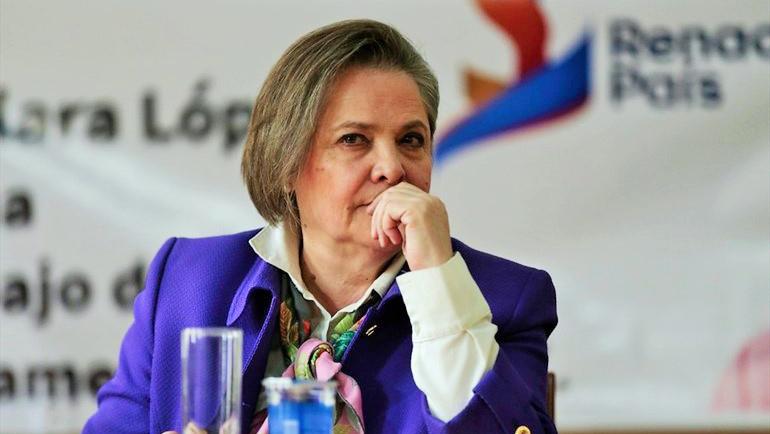 Clara López Obregón. Foto: ClaraLopez.org