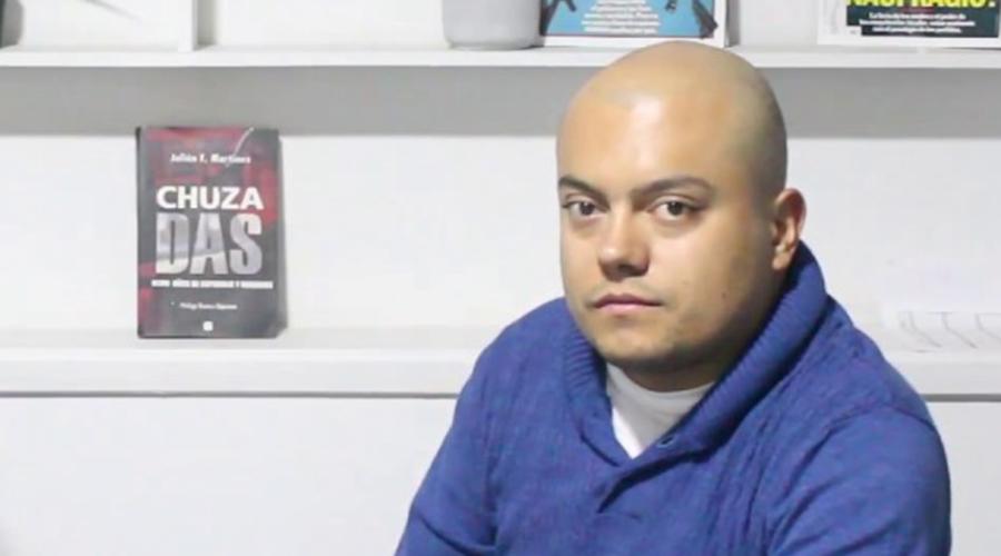 Julián Fernando Martínez Vallejo. Foto: Juliana Rodríguez en YouTube.