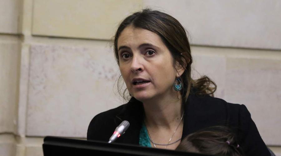 Paloma Valencia Laserna. Foto: Senado de la República.