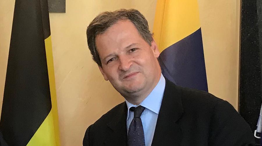 Sergio Jaramillo Caro. Foto: Embajada de Colombia en Bélgica.