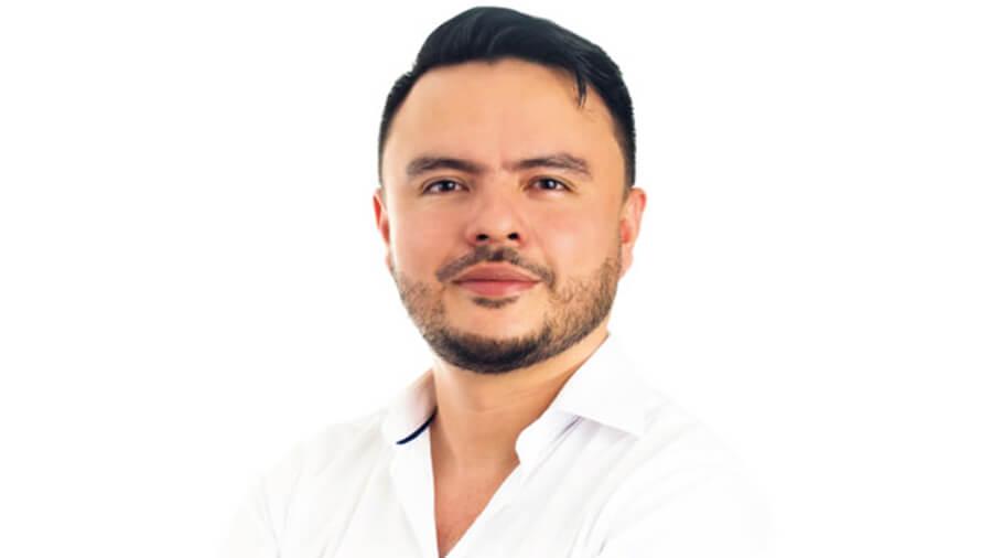 Juan Felipe Harman Ortiz. Foto: Campaña Alcaldía 2019