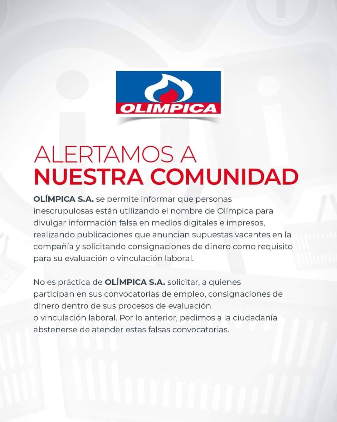 Comunicado_Olimpica