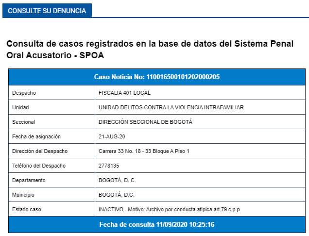 Denuncia archivada contra Javier Ordóñez por violencia intrafamiliar en SPOA