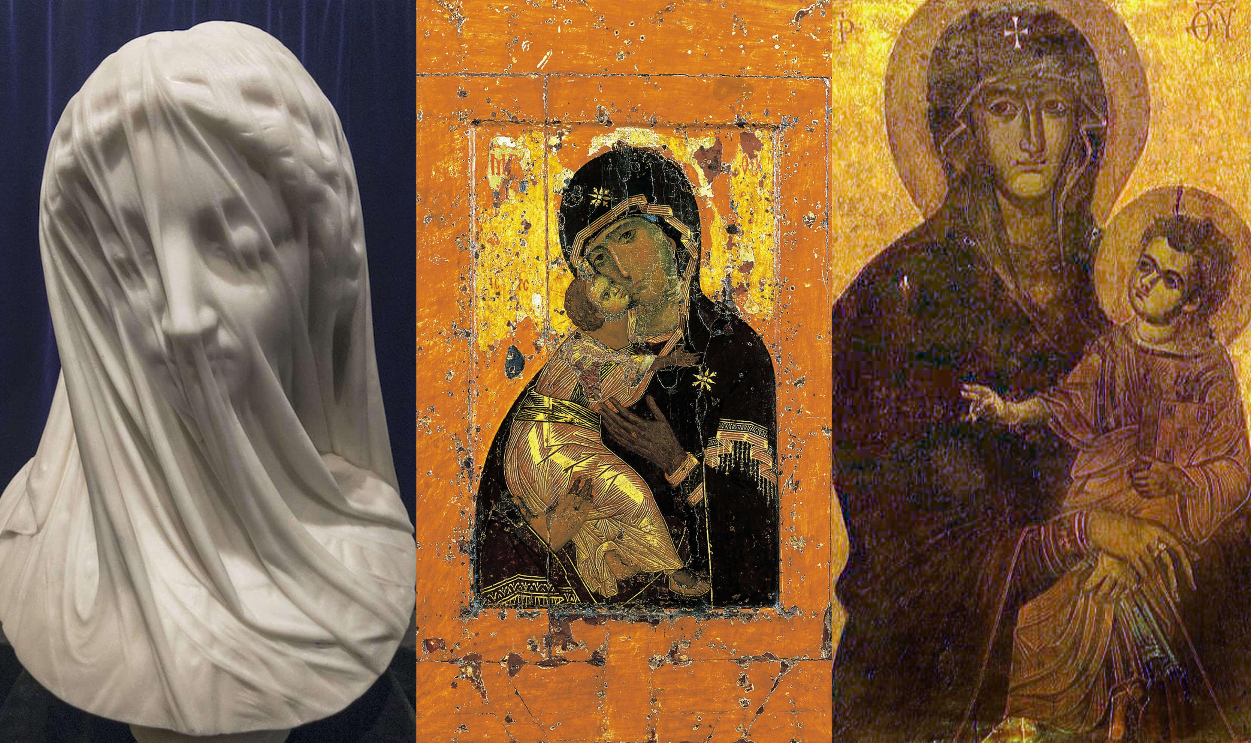 Imágenes de la Virgen María a lo largo de la historia.