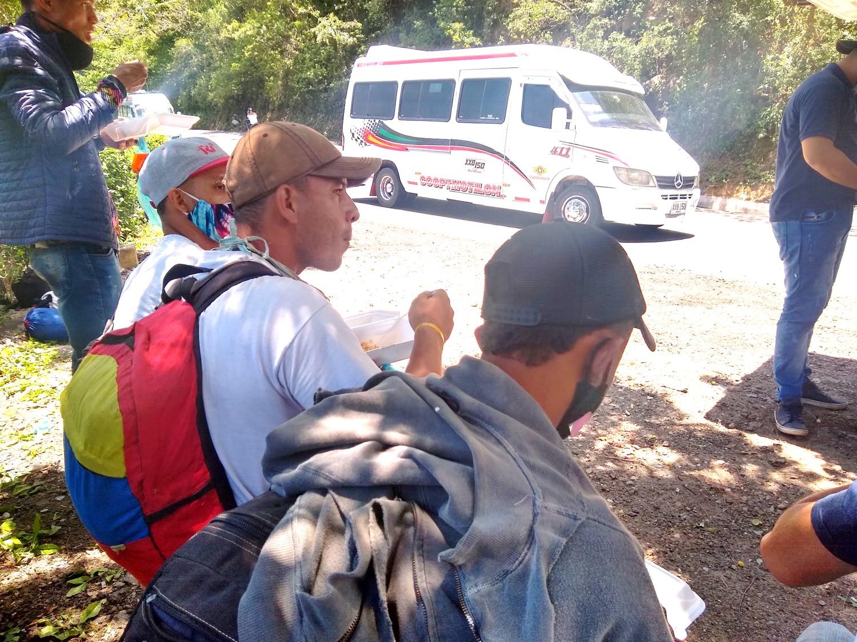 La pandemia complicó la crisis humanitaria dentro de Venezuela.