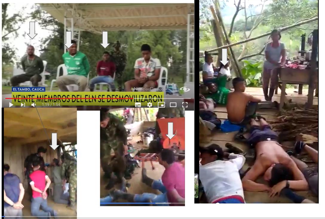 Captura de pantalla de los videos
