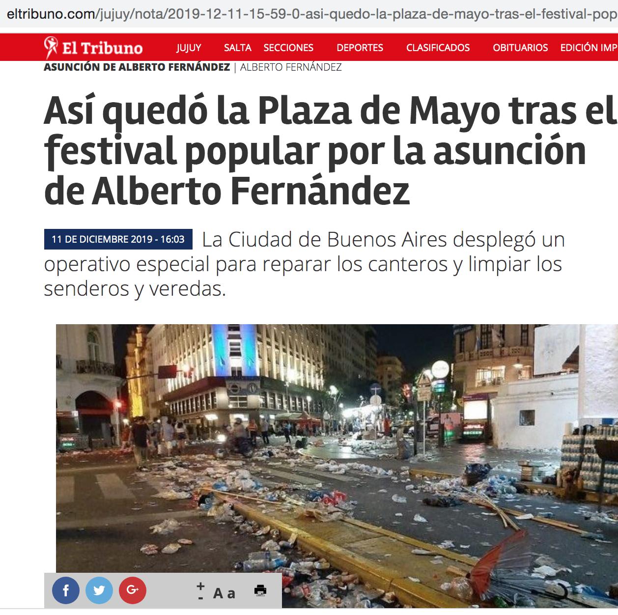Foto de medio El tribuno