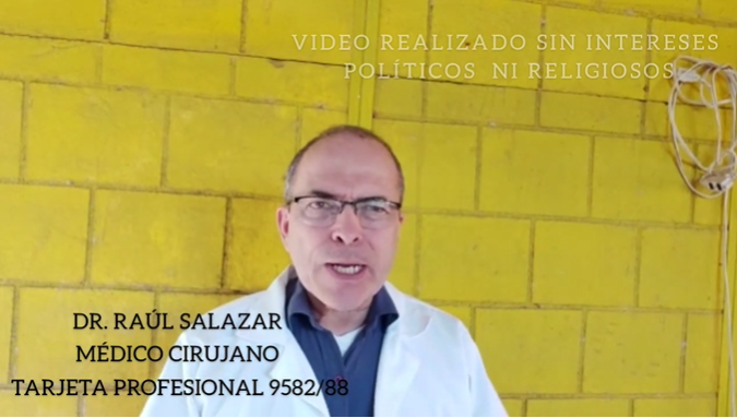 Raul_Salazar_Marcha Video_Antivacunas