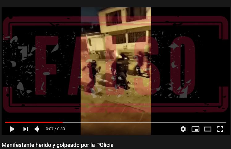 Ataque_Policia_Cali_Falso