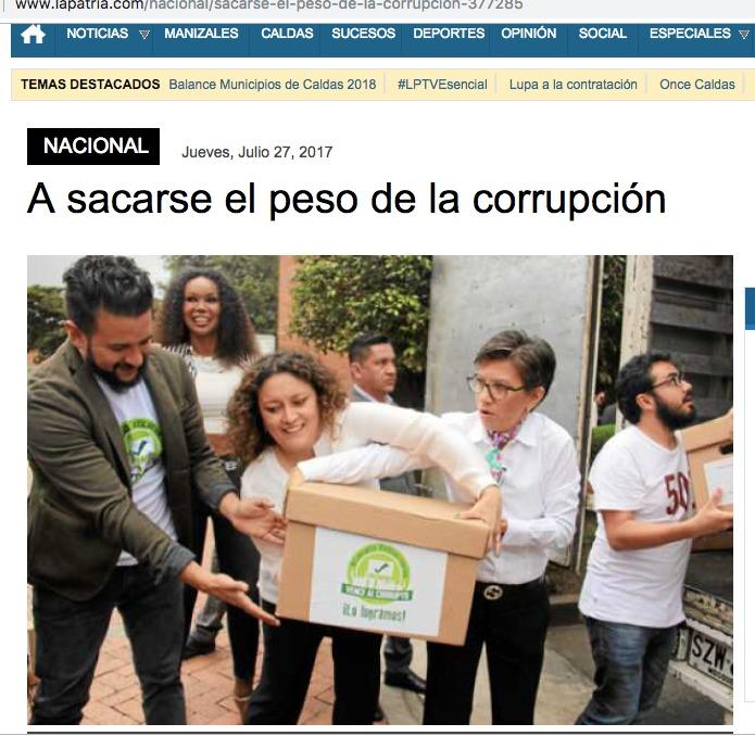La Patria Claudia López