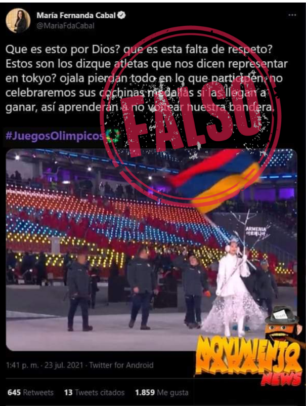Trino_Cabal_Falso_Bandera_Olimpicos