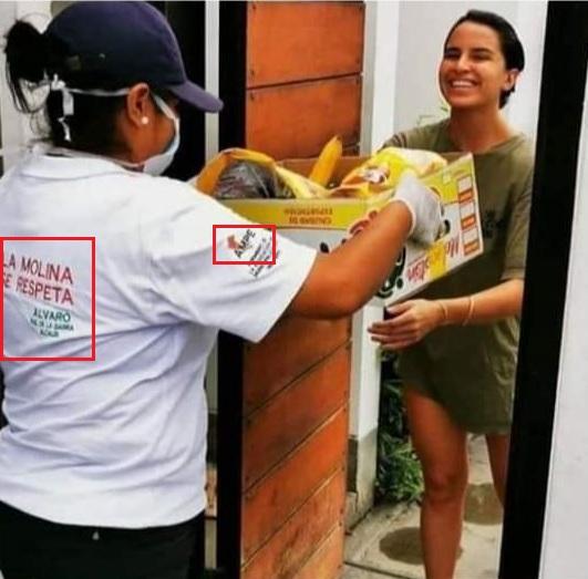 Compaña de donación en Perú.