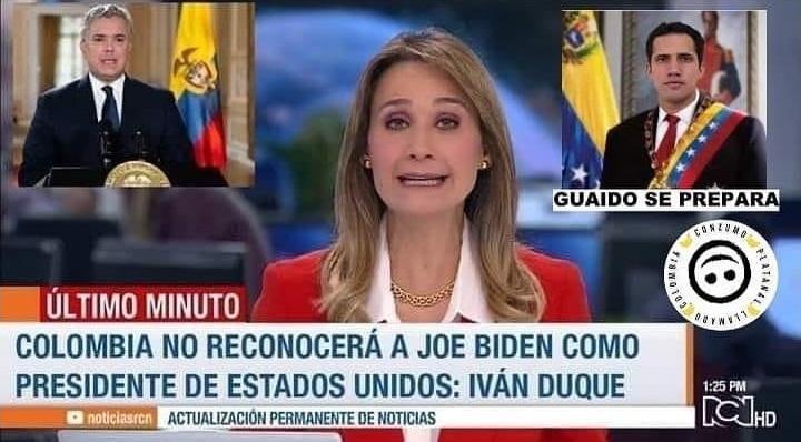 Meme Biden Guaidó
