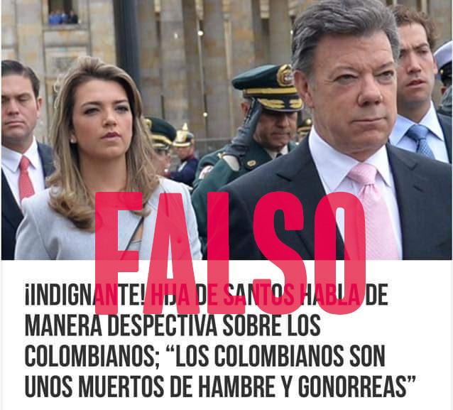 Falsa cita de María Antonia Santos