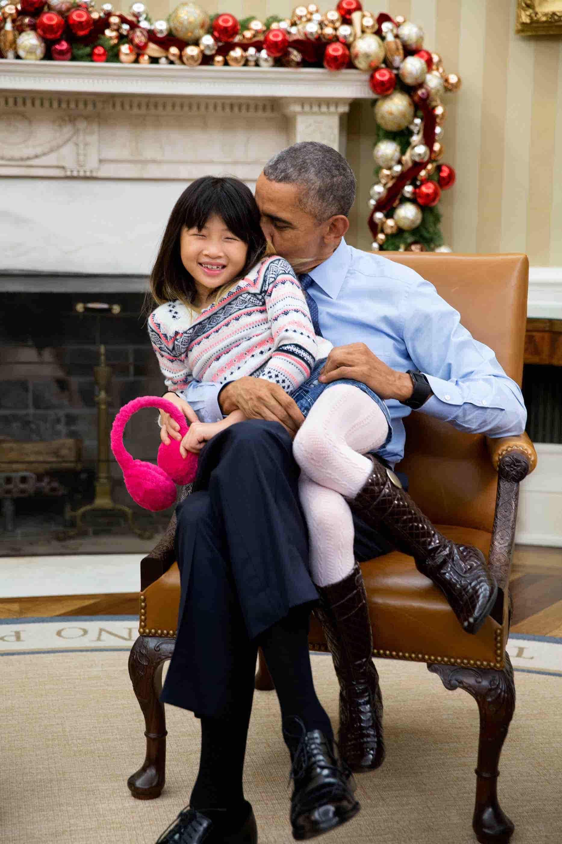 Obama y su sobrina