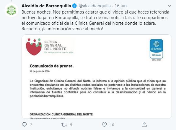 Pantallazo Alcaldía