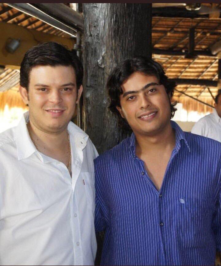 Alejandro Lyons y Nicolás Petro