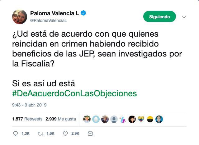 Trino Paloma Valencia