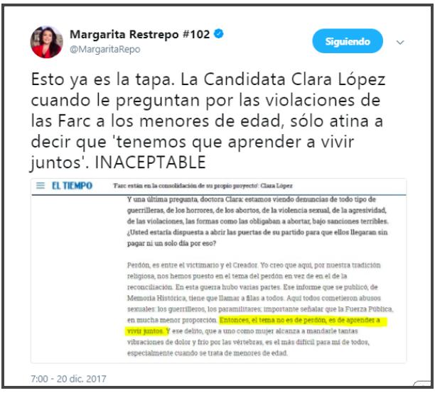 Margarita Restrepo