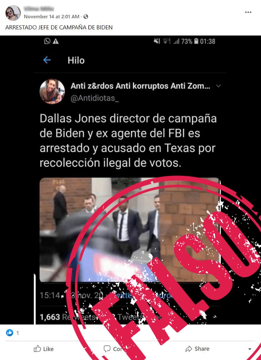 Captura de pantalla Dallas Jones