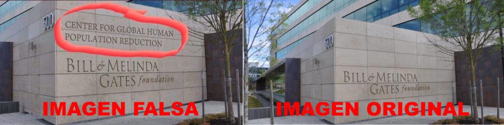 Imagen falsa vs. imagen original