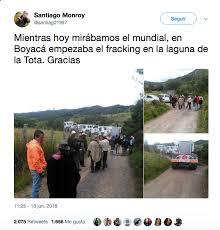 Publicación falsa sobre fracking en el lago de Tota en Boyacá