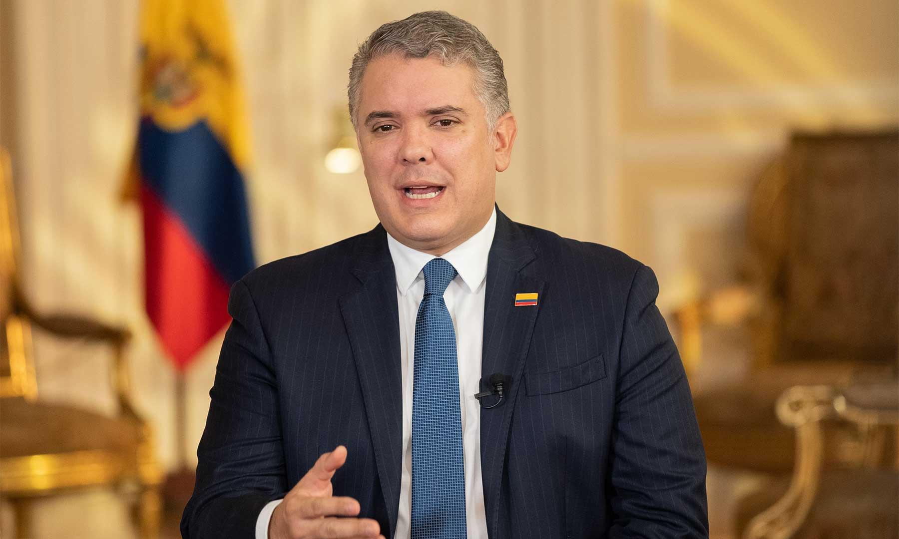 Presidente Iván Duque (Foto de Presidencia)
