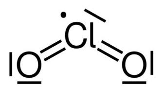 dióxido de cloro formula