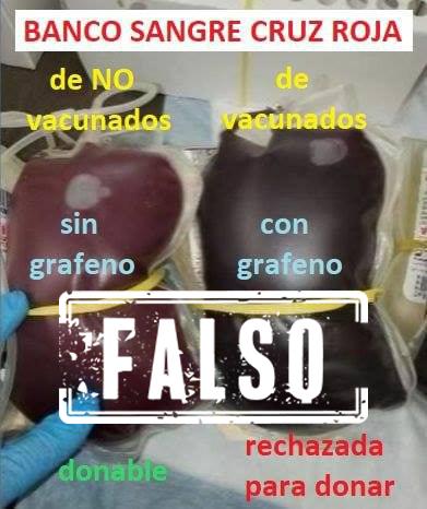 etiqueta falso