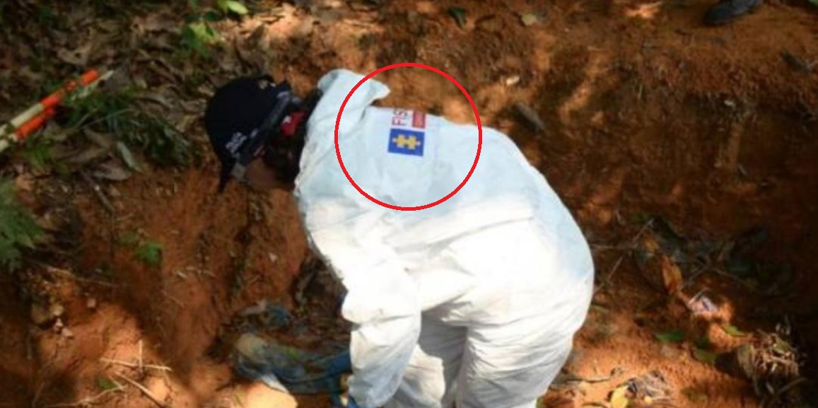 exhumación Fiscalia- Colombia