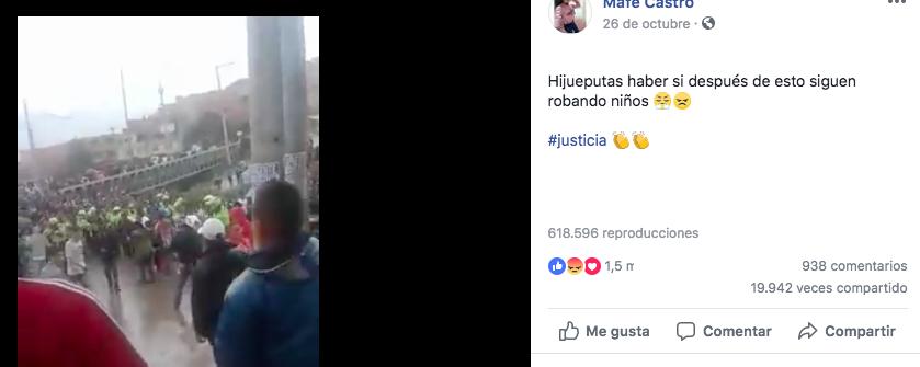Linchamiento en Ciudad Bolívar por noticia falsa