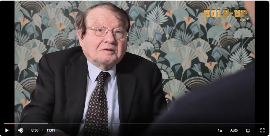 pantallazo entrevista Montagnier