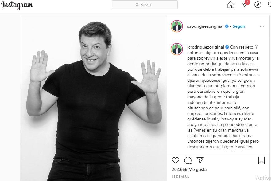 Publicación Instagram