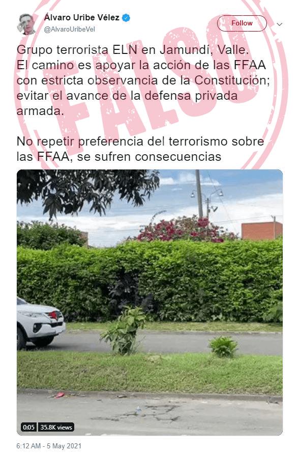 Trino_ELN_Falso Uribe