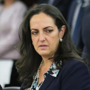 María Fernanda Cabal Molina. Foto: Senado de la República.